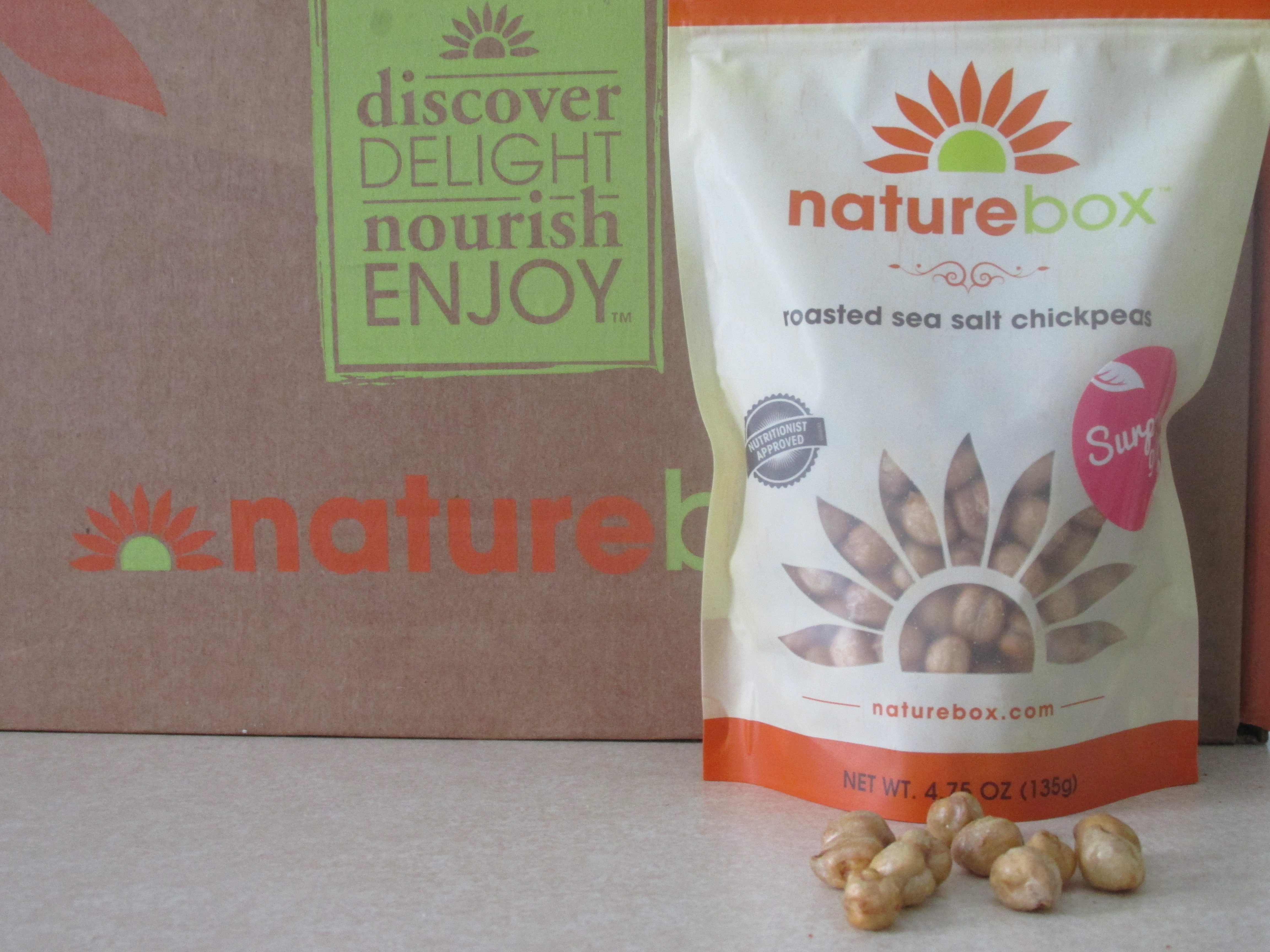 Naturebox Roasted Sea Salt Chickpeas