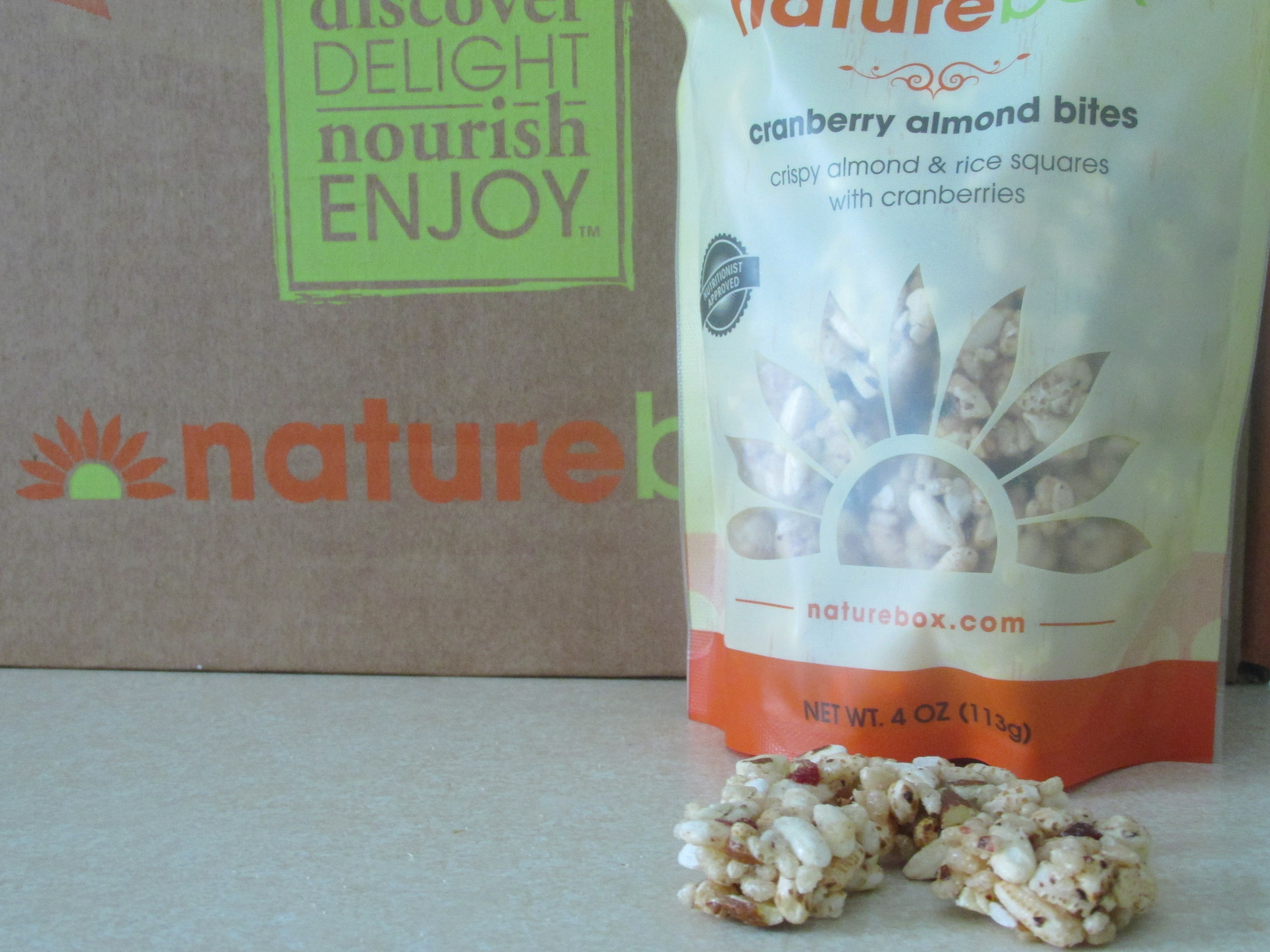 Naturebox cranberry almond bites