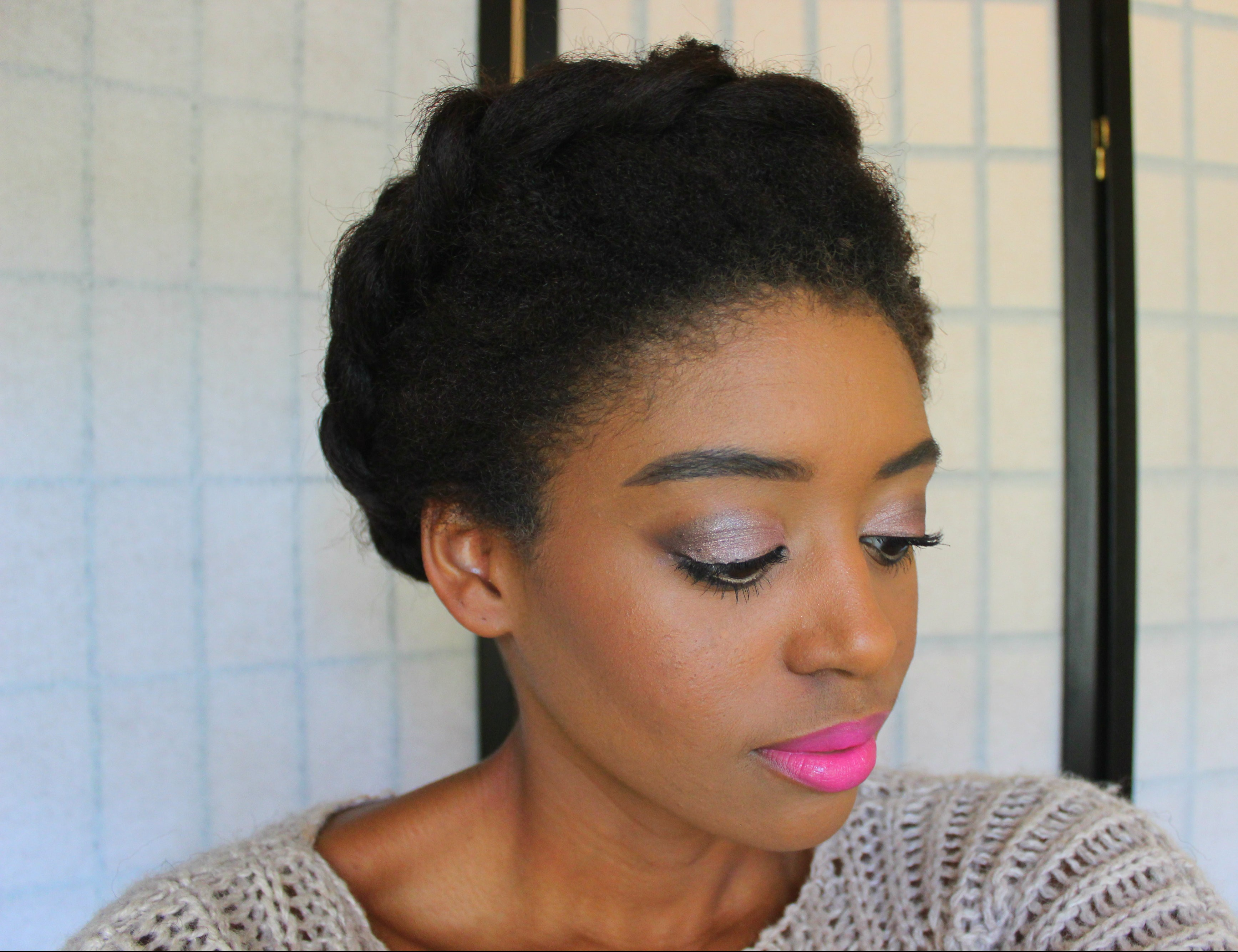 Easy Crown Braid Twist
