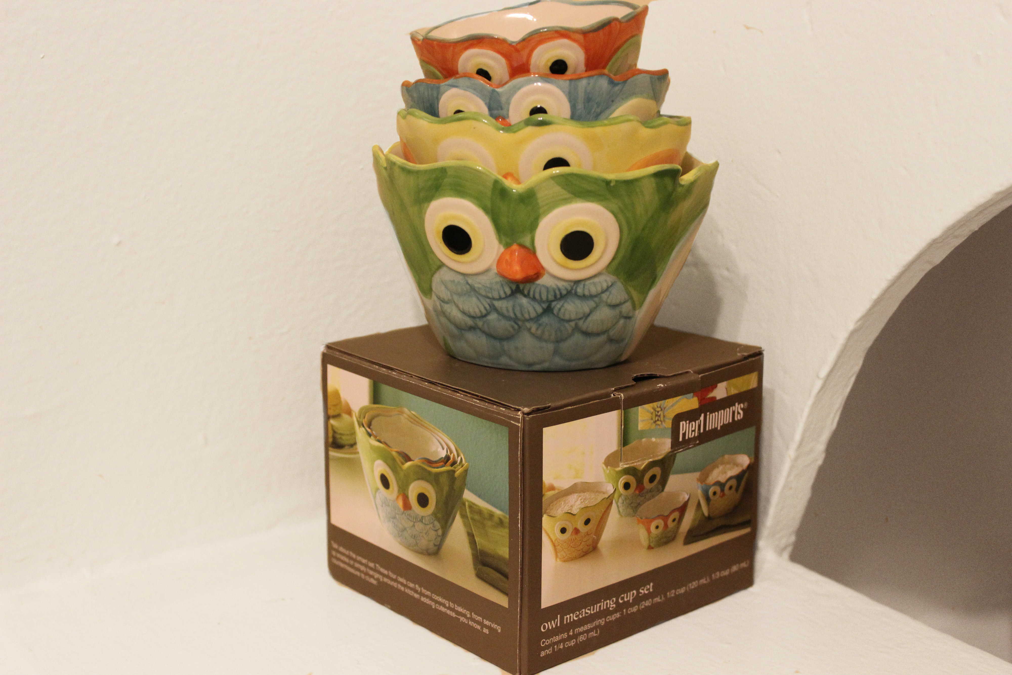 Pier 1 Owl Measuring Cups